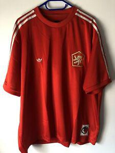 Maillot foot porté match worn shirt ancien vintage