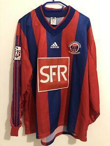 Maillot foot shirt porté match worn coupe de france