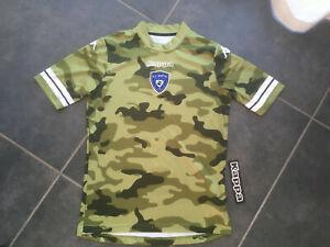 Maillot football kappa bastia scb camouflage neuf taille m