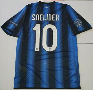 Maillot maglia shirt inter sneijder 10 2010-2011 10-11