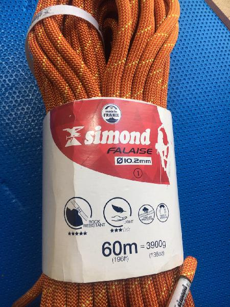 Ocasión!! cuerda de escalada 60m - no usada!