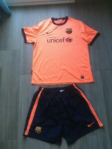 Tenue nike football maillot + short fc barcelone liga barça