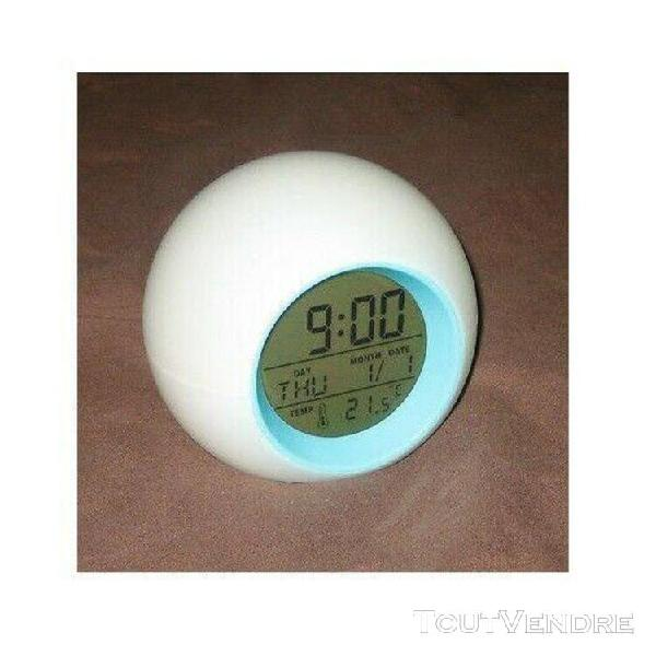 Yves rocher réveil diffuseur de lumière avec date et