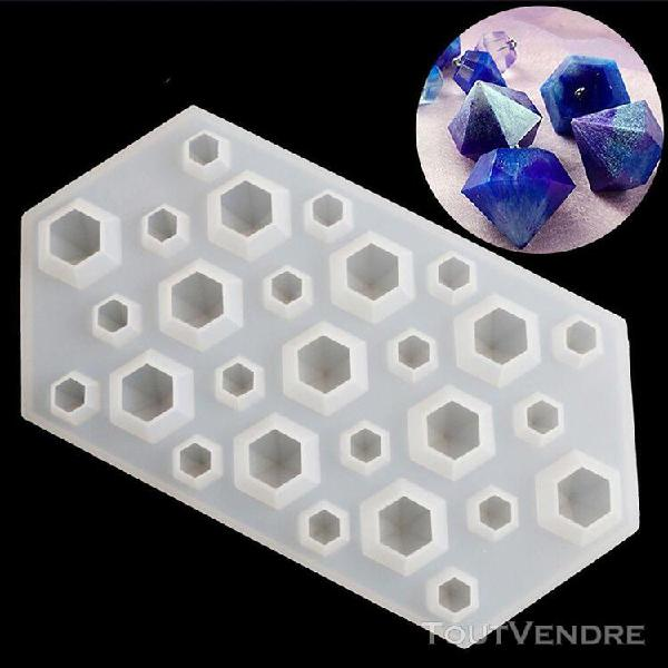 Madkanao moule à cake diamant bricolage silicone pochoir