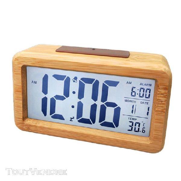 Horloge reveil alarme digital 【 OFFRES Août 】   Clasf