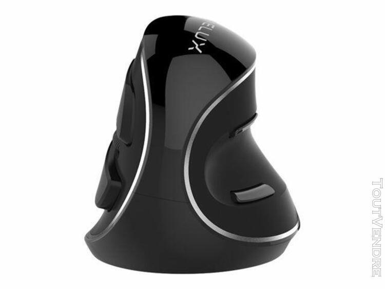delux m618 plus gx - souris - ergonomique - optique - 6 bout