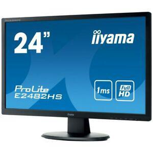 "Iiyama prolite e2482hs-b1 écran plat de pc 61 cm (24"") full"