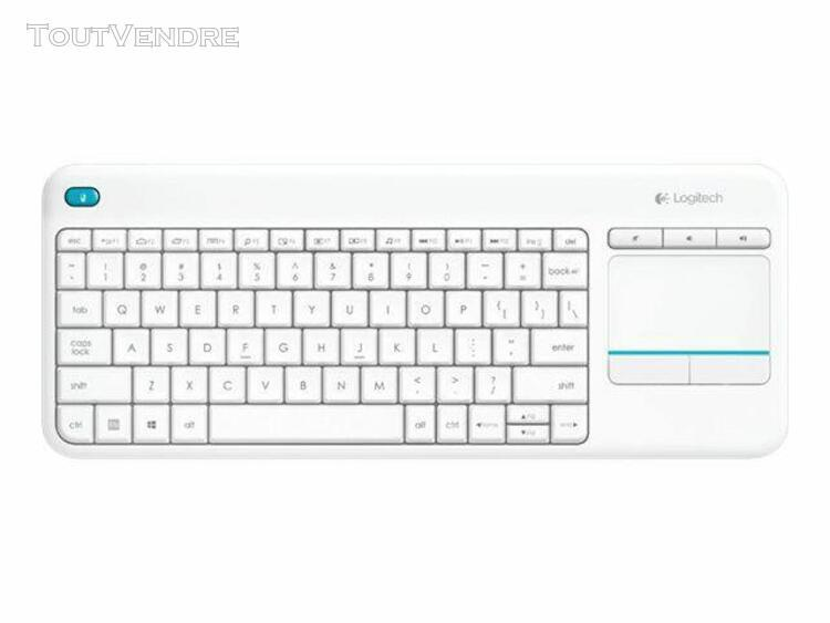logitech wireless touch keyboard k400 plus - clavier - sans