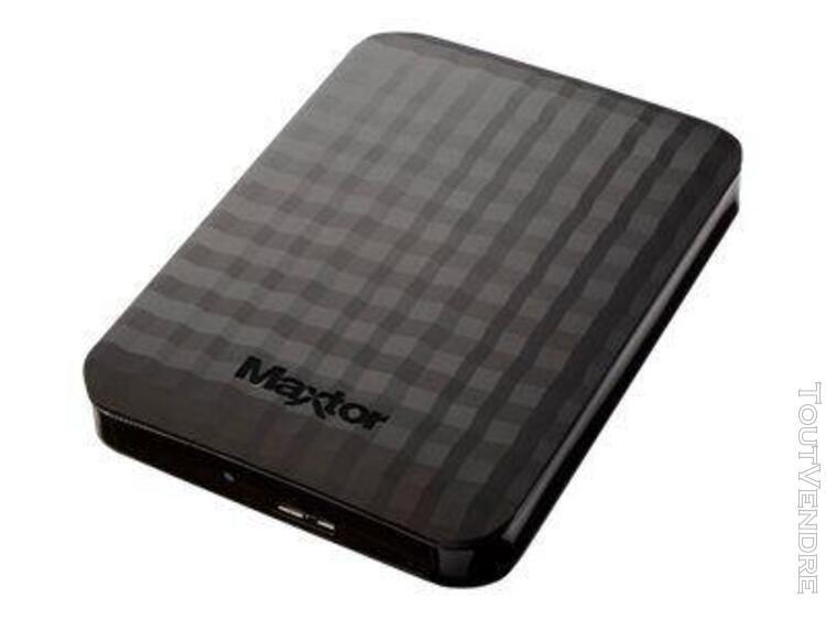 "maxtor m3 disque dur externe 2,5"" 500 go usb 3.0 noir stshx-"