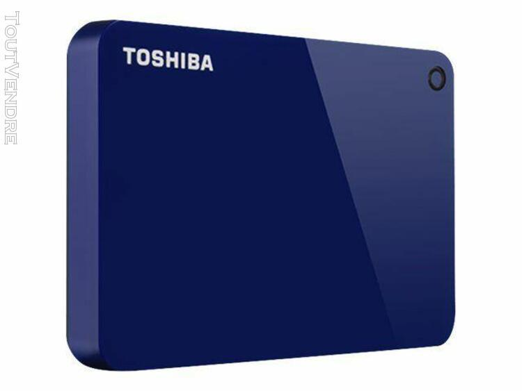 toshiba canvio advance - disque dur - 2 to - externe (portab