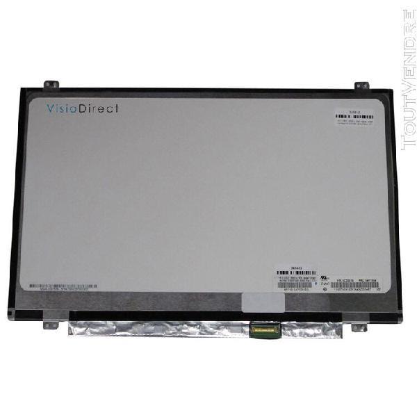 """visiodirect® dalle ecran 14"""" led pour ordinateur portabl"""