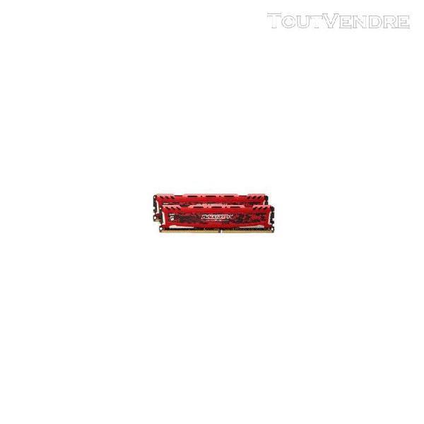 ballistix sport lt - ddr4 - 16 go: 2 x 8 go - dimm 288 broch