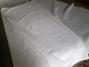 Beau coupon pour rideaux voilage effet lin 150/270 cm neuf