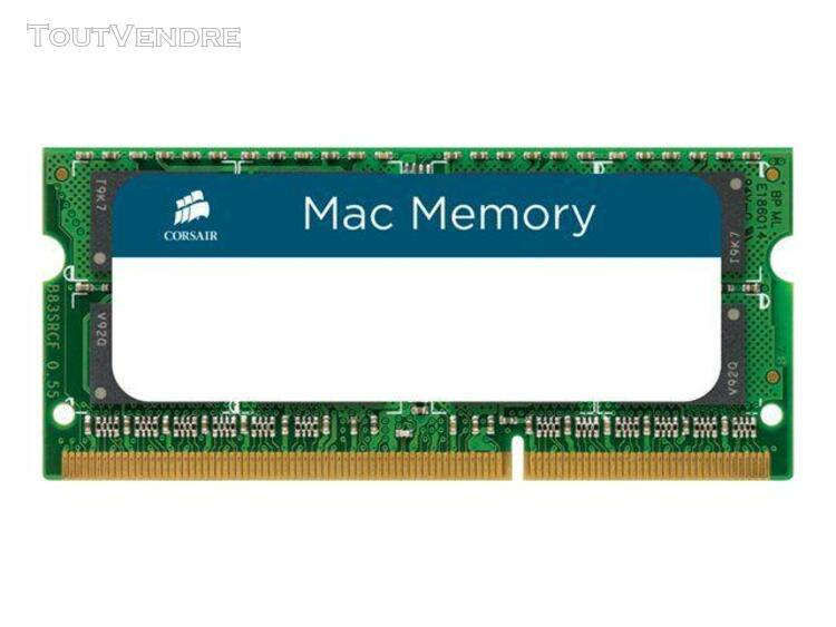 corsair mac memory - ddr3 - 16 go: 2 x 8 go - so dimm 204 br