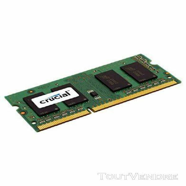 crucial ct51264bf160b mémoire de 4gb ddr3l 1600 mt/s