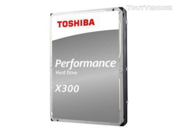 "disque dur 6 to interne 3.5"" toshiba x300 - sata 6gb/s - 720"
