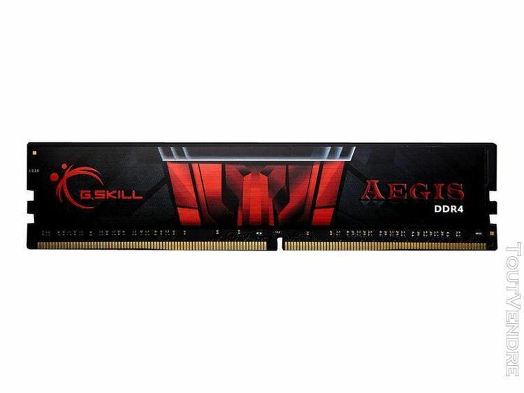 g.skill aegis - ddr4 - 16 gb - dimm 288-pin - 2400 mhz / pc4