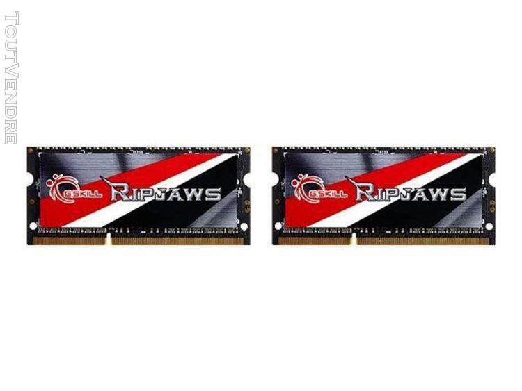 g.skill ripjaws f3-1600c9d-16grsl - memory - 16 gb
