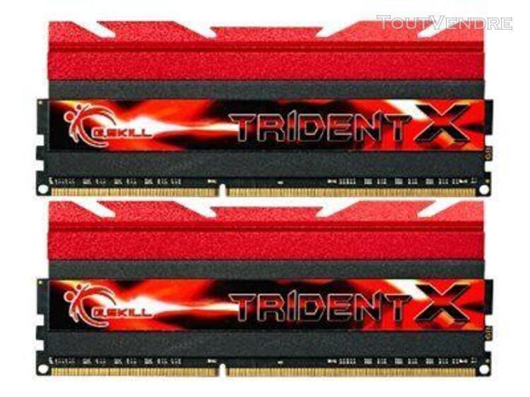 g.skill tridentx series - ddr3 - 16 go: 2 x 8 go - dimm 240