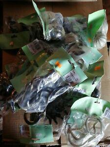 Lot de 20 paires d'embouts tringle à rideaux neufs