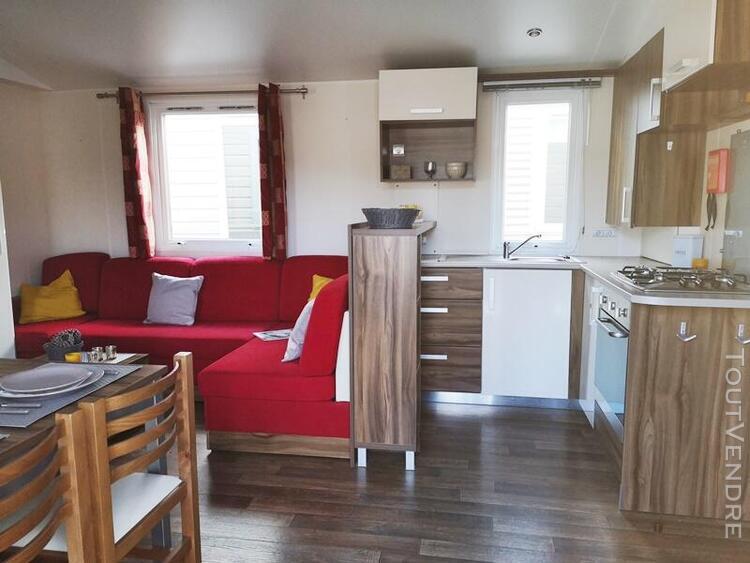 Mobil home 36 m² sur camping familial en bord de mer !