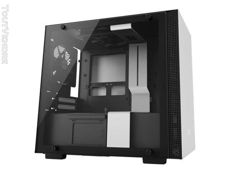 nzxt h series h200 - tour - mini itx - pas d'alimentation -