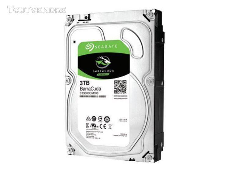 seagate barracuda st3000dm008 - disque dur - 3 to - interne
