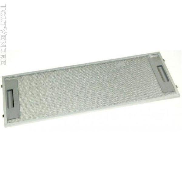 filtre metallique pour hotte de dietrich