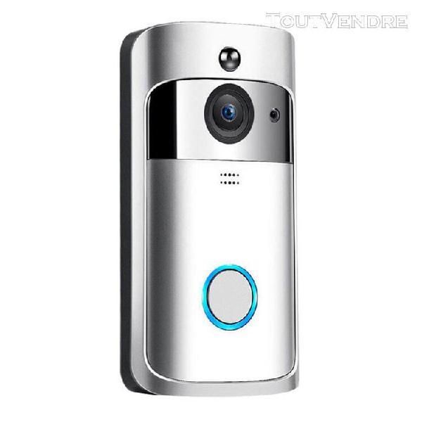 interphone vidéo intelligent sans fil sonnette 1080p ir