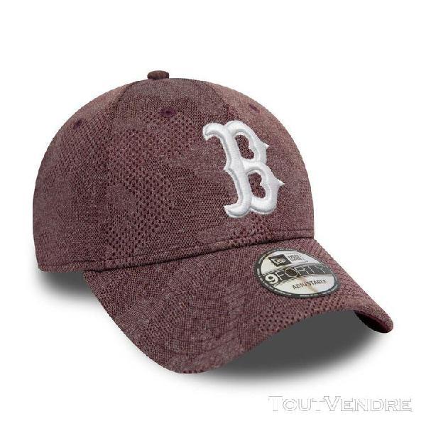 new era engineered plus team baseball cap (boston red sox -
