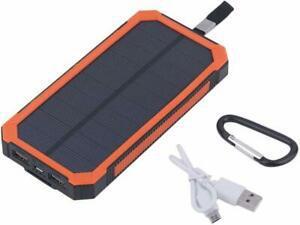 Chargeur solaire 50000 mah batterie externe indicateur led