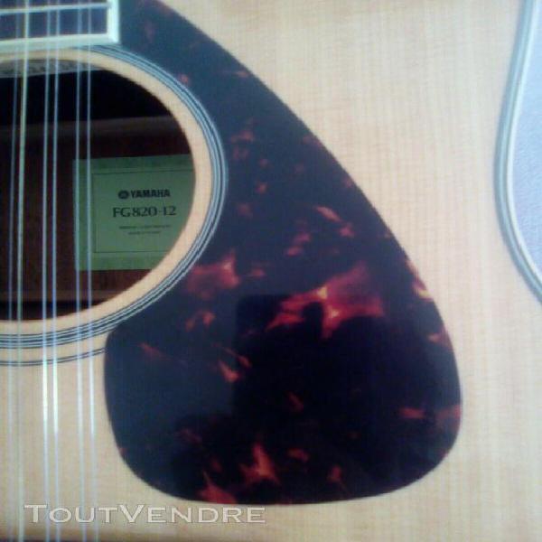 Guitare folk 12 cordes - yamaha fg820