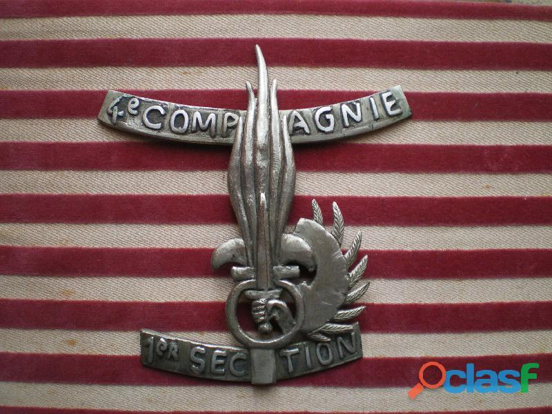Insigne Parachutiste Légion Etrangère. Foreigner Legion Paratrooper.