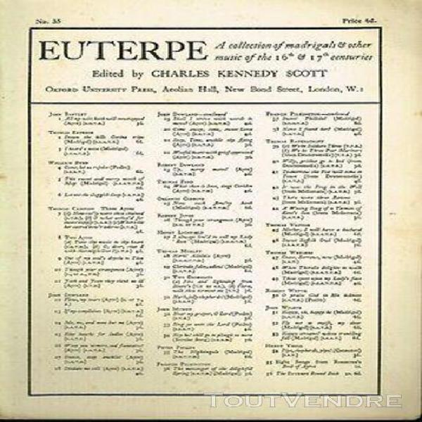 Peter philips the nightingale - euterpe - n° 35 oxford