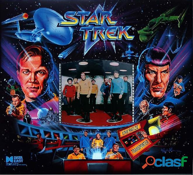 Recherche flipper star trek 25th ANNIVERSARY data east