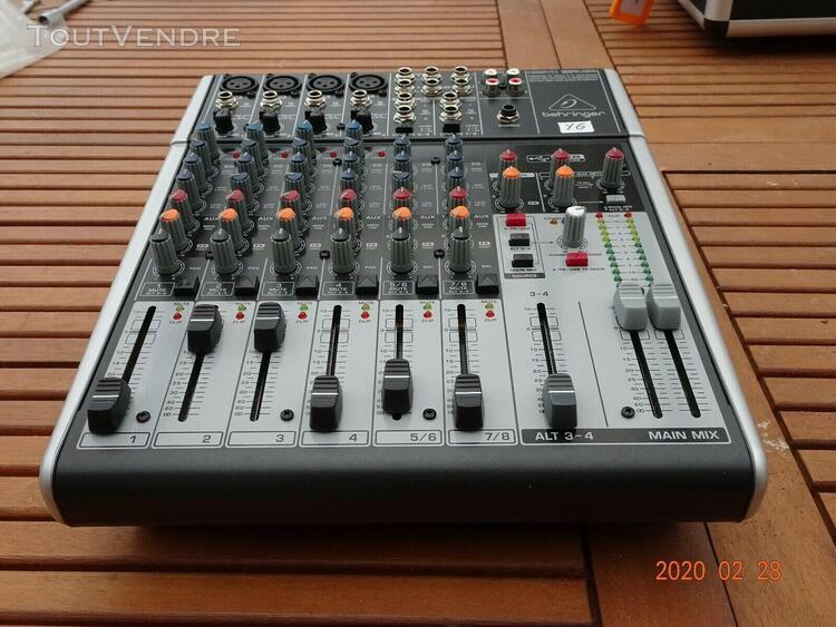 Table de mixage behringer xenyx 2404, 12 canaux de déc.