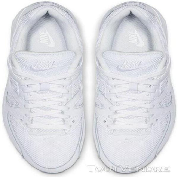 Nike air max command, baskets mode homme, blanc (white/white