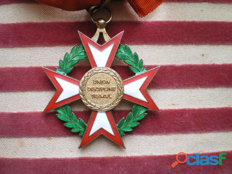 Ordre National de la Côte d'Ivoire (Afrique). National Order of Ivory Coast. 1