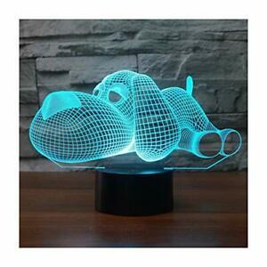 3d lampe illusion optique led veilleuse, easehome optiques