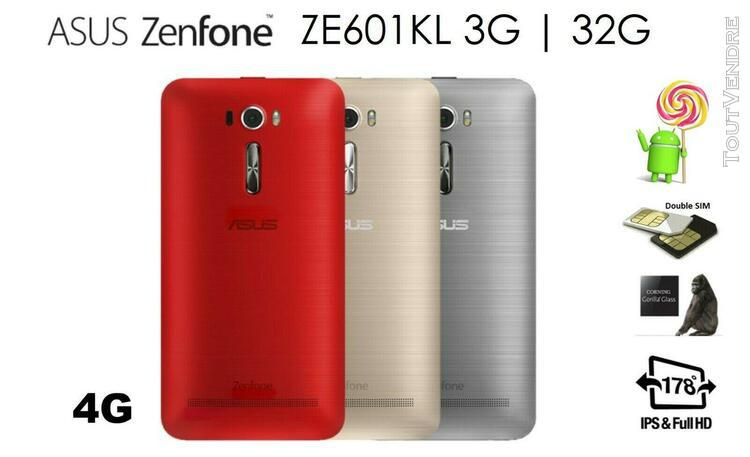 "Asus zenfone 2 laser ze601kl / 6"" full hd / réseau 4 g 4g /"