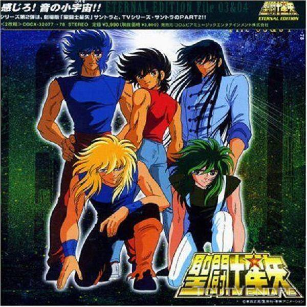 Saint seiya - eternal edition file 03 & 04