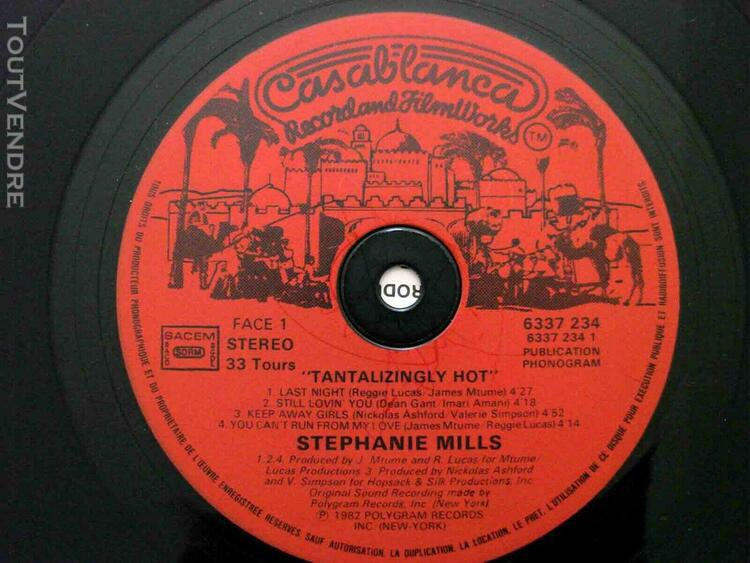 Stephanie mills tantalizingly hot 1982