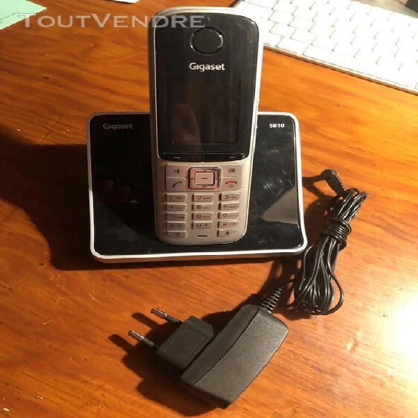 Téléphone sans fil gigaset s810h (dect + chargeur + cable)