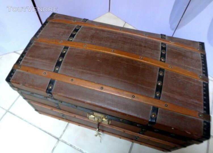 Belle malle poupée ancienne jumeau steiner sfbj 51 cm x 29