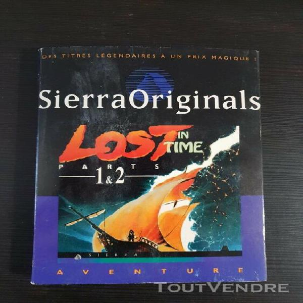 Jeux game pc big box lost in time parts 1 & 2 fr