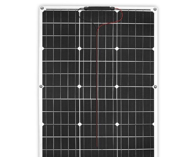 Panneau solaire 50 w flexible + régulateur neuf