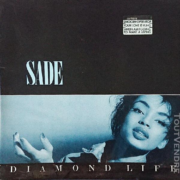 Sade – diamond life lp 33t epic – 26044 europe