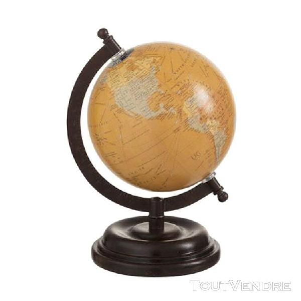 Décoration mappemonde 21 cm