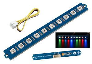 Module rampe led rgb 10 x w2813 compatible arduino - see510