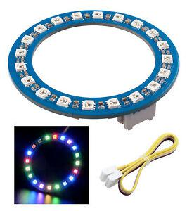 Module roue led rgb 20 x w2813 compatible arduino - see521